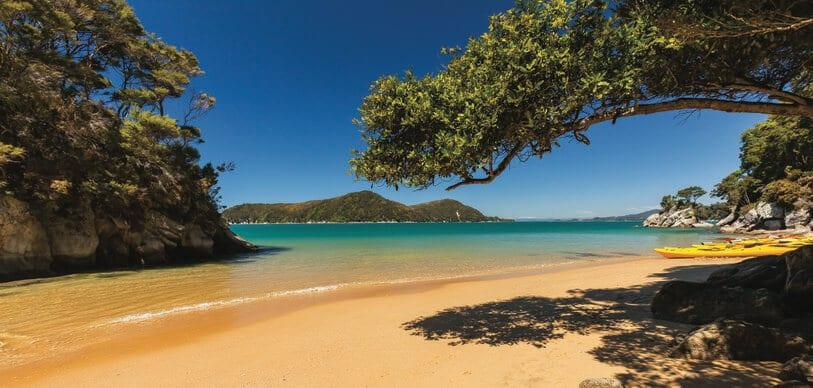 Nouvelle-Zélande-plage