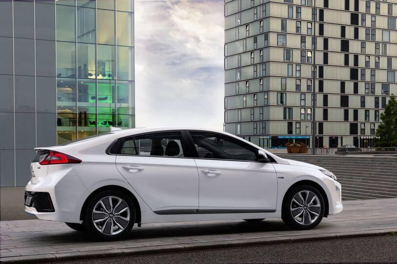 Hyundai Ioniq, première mondiale !